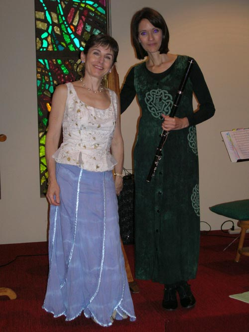 Stephanie Bennett and Susan Craig Winsberg, July 2008