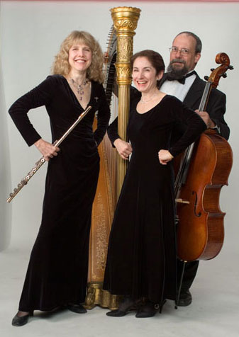 Stephanie Bennett Trio with Laura Halladay, flute and Harry Gilbert, cello
