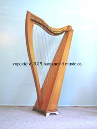 Dusty 36 string harp