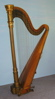 Lyon & Healy gilded 20 antique harp (thumbnail)