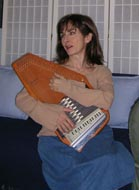 autoharp being played