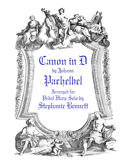 Pachelbel Canon in D Sheet Music Cover