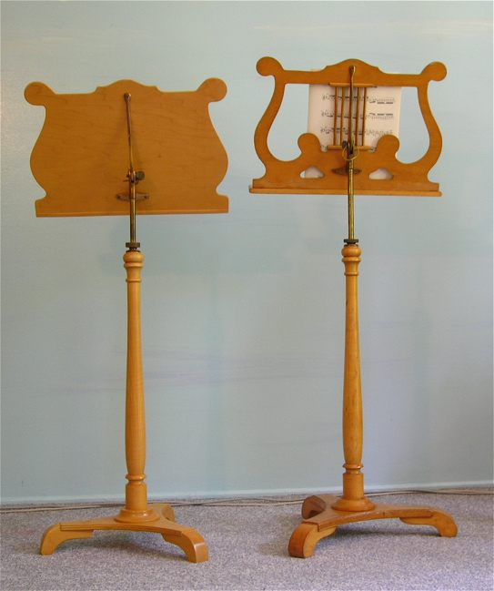 maple music stands